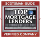 C2 Financial was voted a top mortgage company by Scotsman
